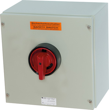 GHG981 / ATEX Zone22, Dust Safety switch 40A