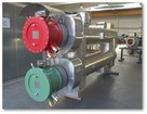 Electrical flow heaters & heat exchangers